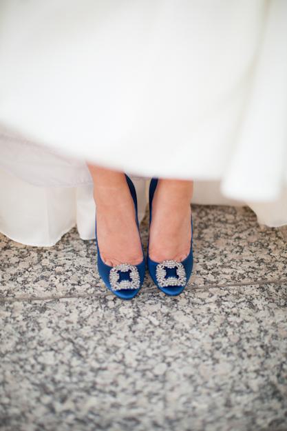 Carrie Bradshaw Manolo Blahnik Wedding Shoes Florida Photo