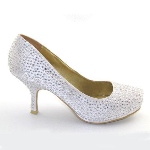 3 inch wedding shoes photo - 1