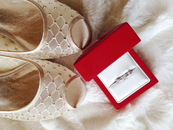 adrianna papell wedding shoes photo - 1