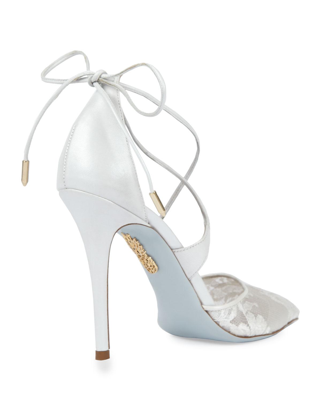aquazzura bridal shoes photo - 1
