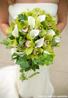 artifical wedding bouquets photo - 1