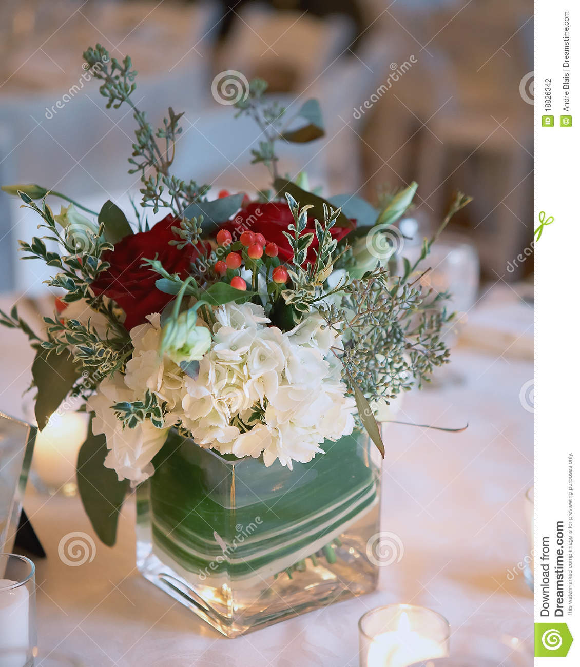 artificial bouquets for wedding photo - 1