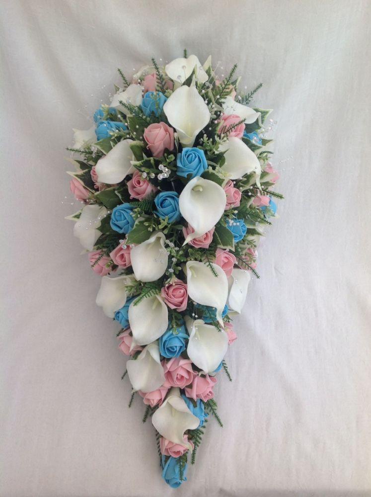 artificial wedding flowers photo - 1