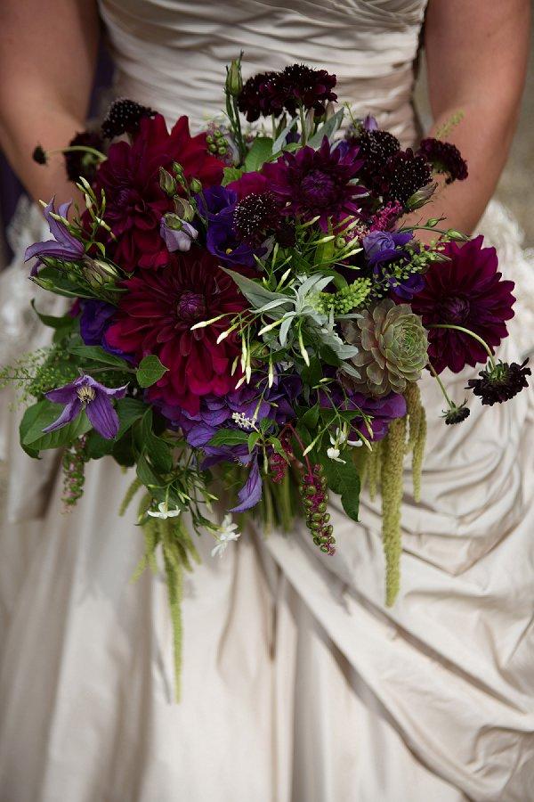 autumnal wedding bouquets photo - 1