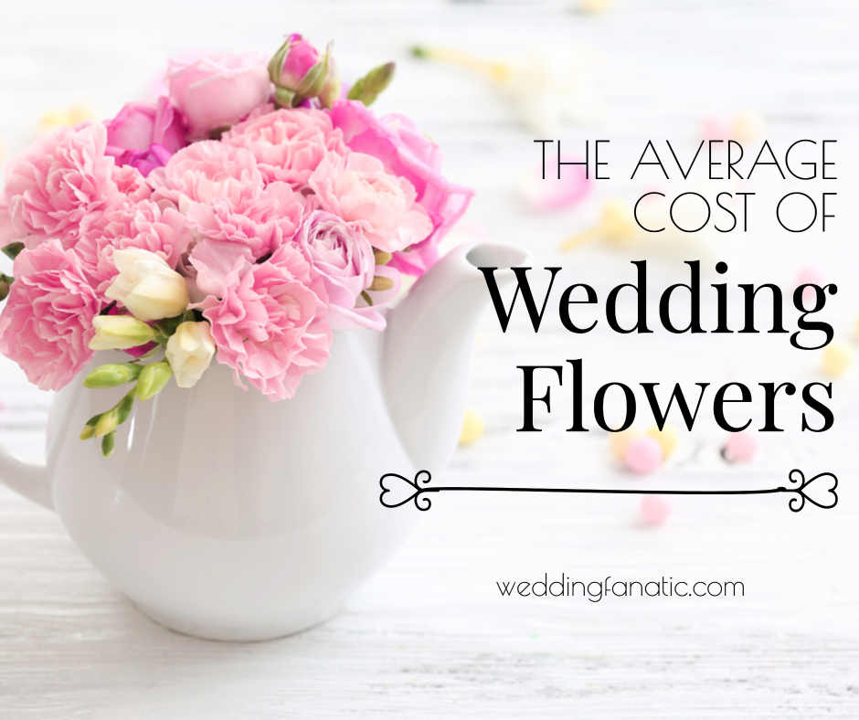average cost of flowers for a wedding photo - 1
