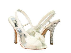 badgley mischka bridal shoes blue photo - 1