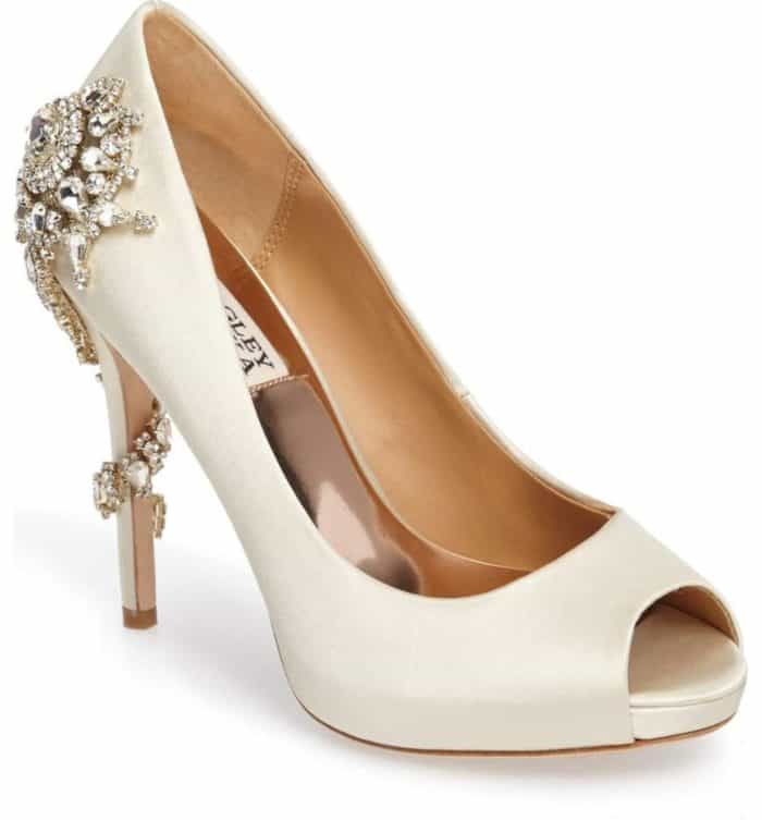 badgley mischka bridal shoes nordstrom photo - 1