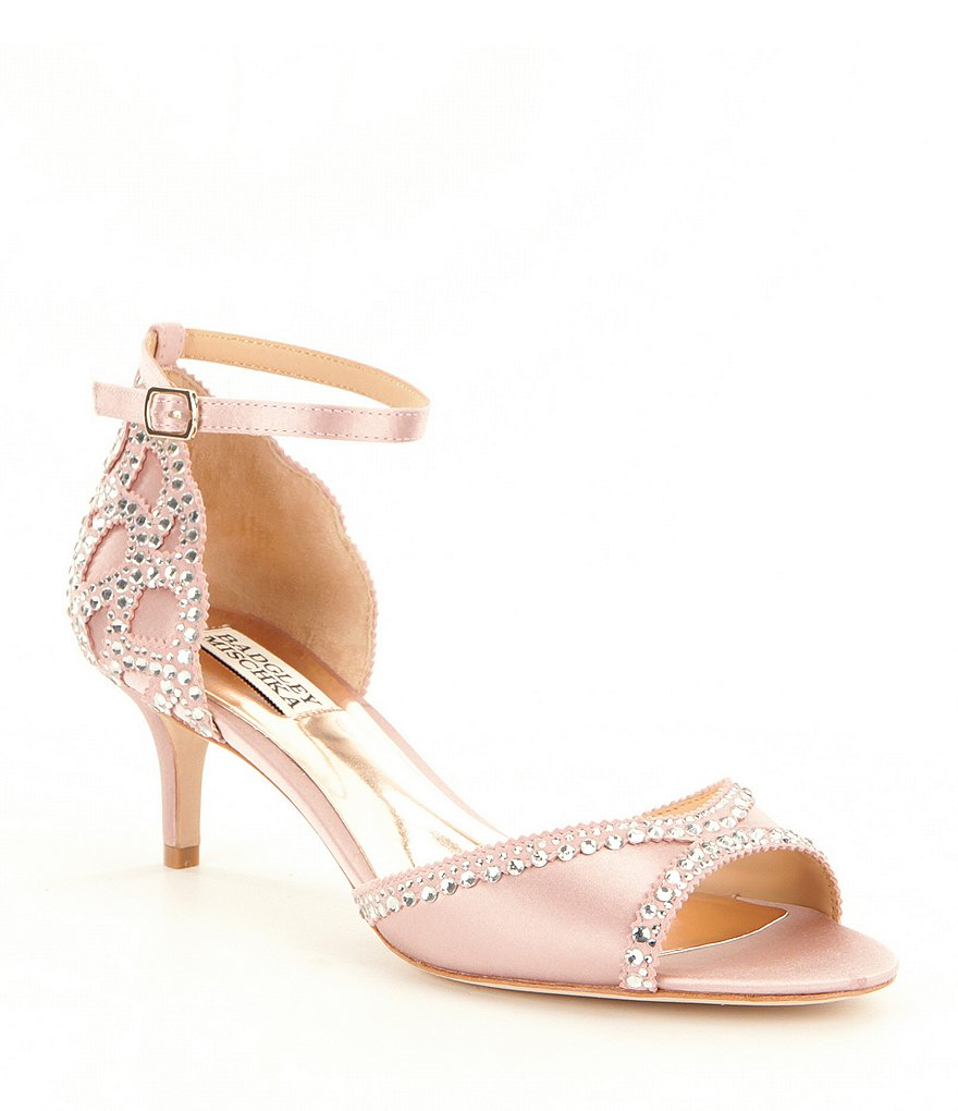 badgley mischka bridal shoes sale photo - 1
