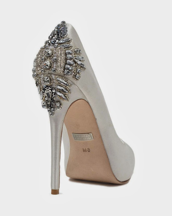 badgley mischka shoes bridal photo - 1