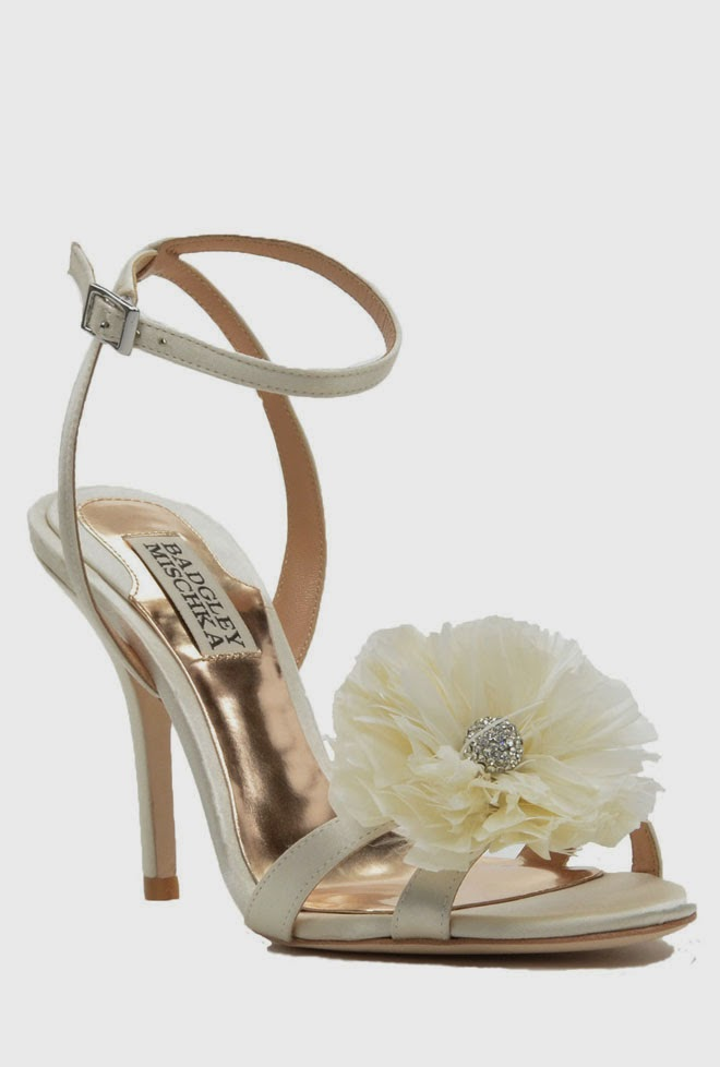 badgley mischka shoes wedding photo - 1