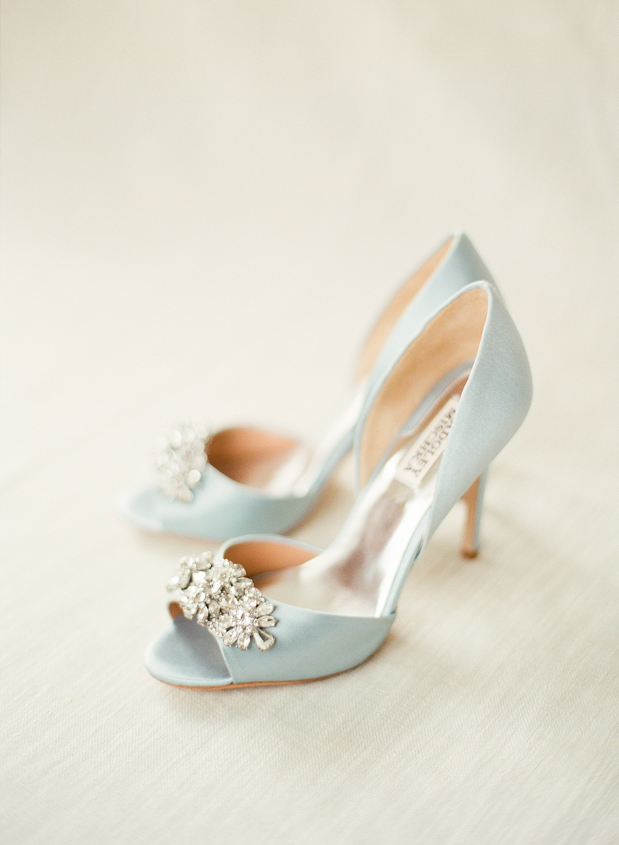 badgley mischka wedding shoes photo - 1