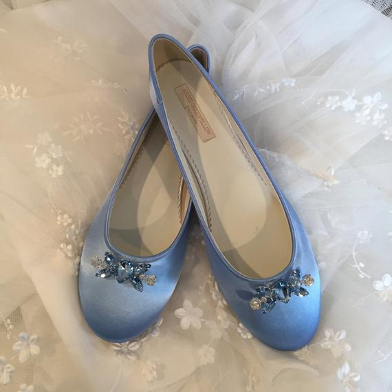ballet slipper wedding shoes photo - 1