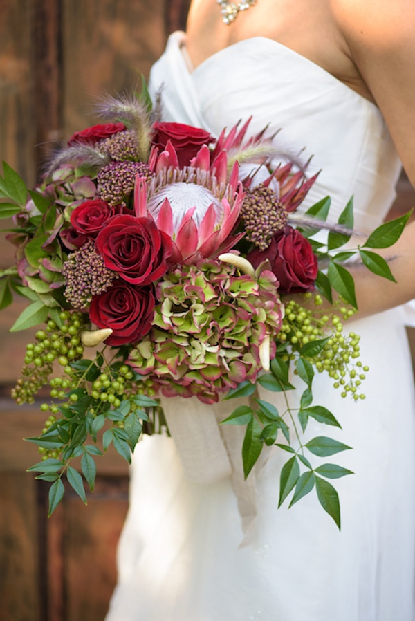 beach bridal bouquets photo - 1