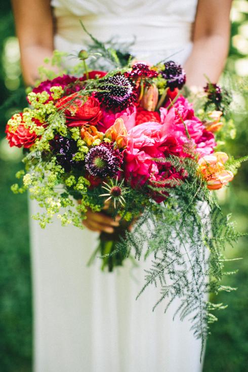 beautiful fall wedding bouquets photo - 1