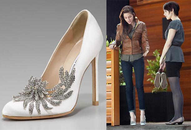 bella swan wedding shoes photo - 1