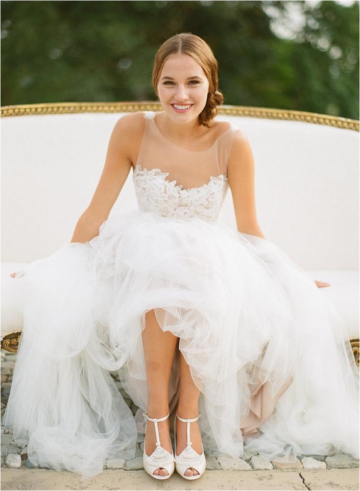 bella wedding shoes photo - 1