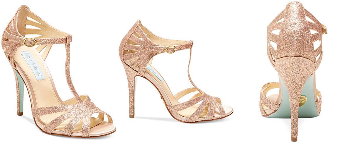 betsey johnson wedding shoes photo - 1