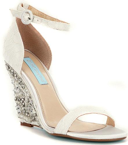 betsy johnson wedding shoes photo - 1