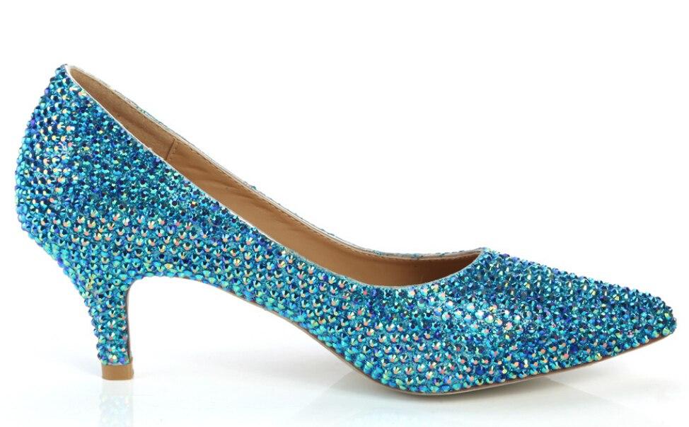 bling bridal shoes photo - 1