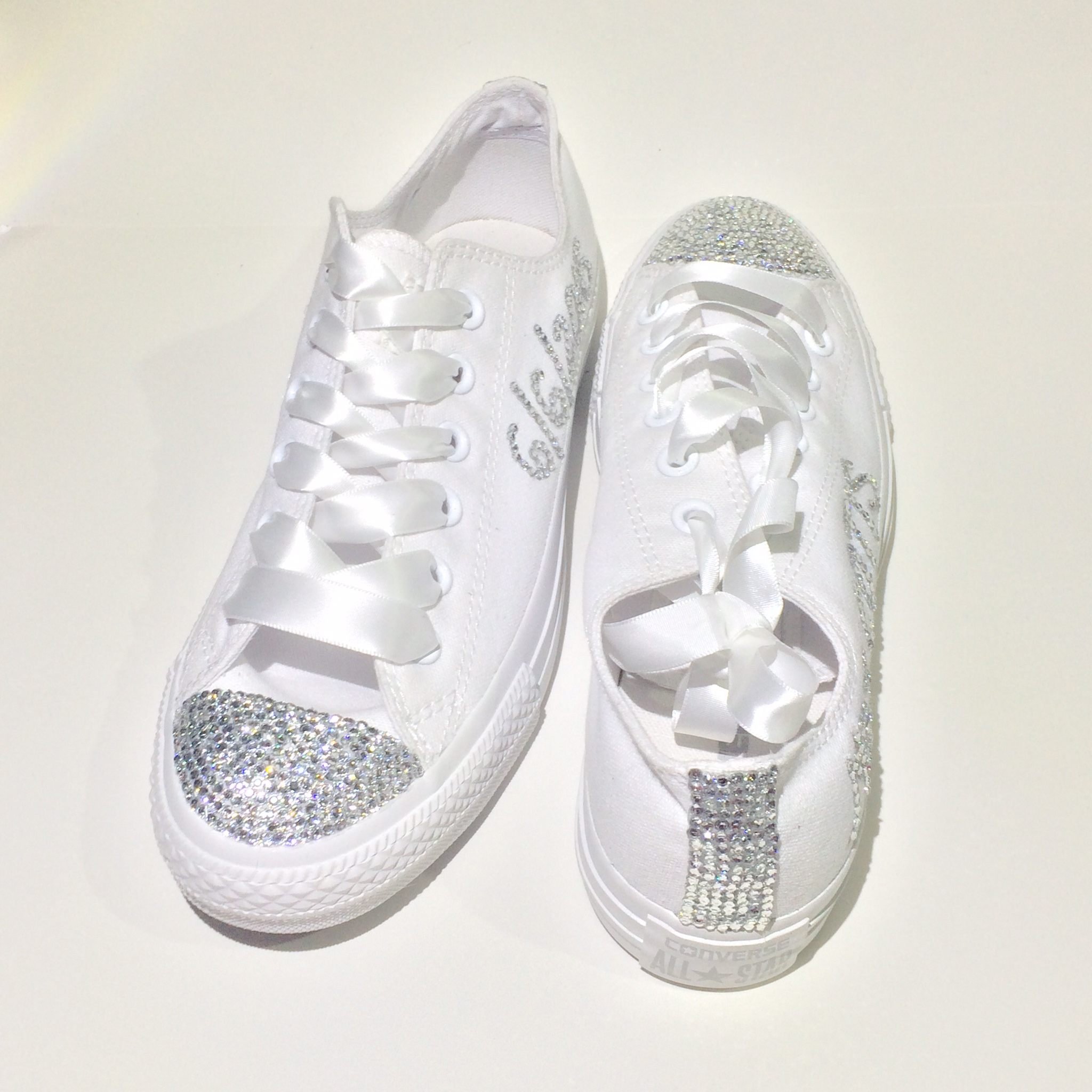 bling wedding shoes for bride photo - 1