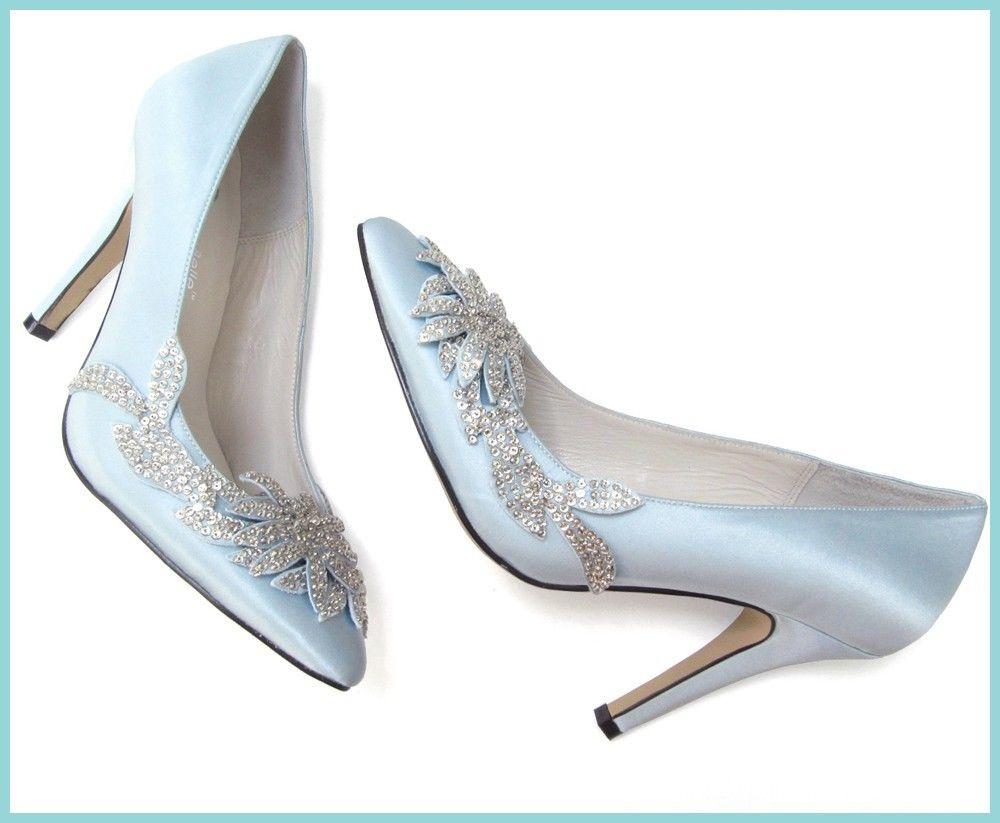 blue sole wedding shoes photo - 1