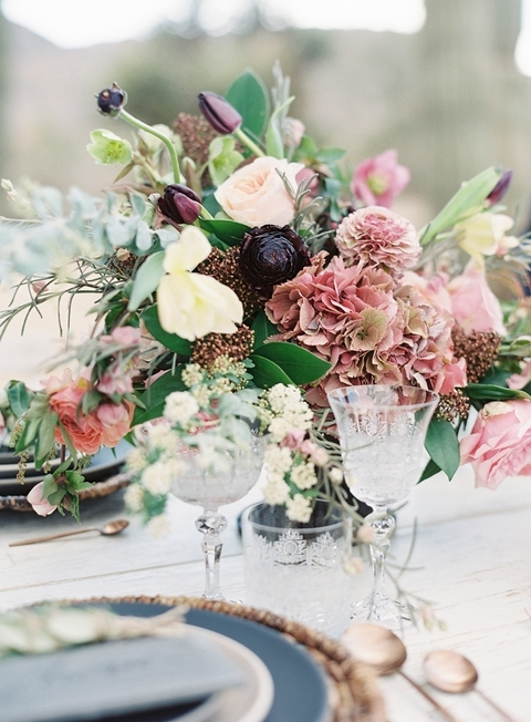 bohemian wedding bouquets photo - 1
