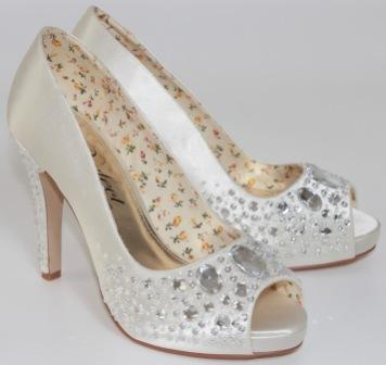 bridal shoes dyeable photo - 1