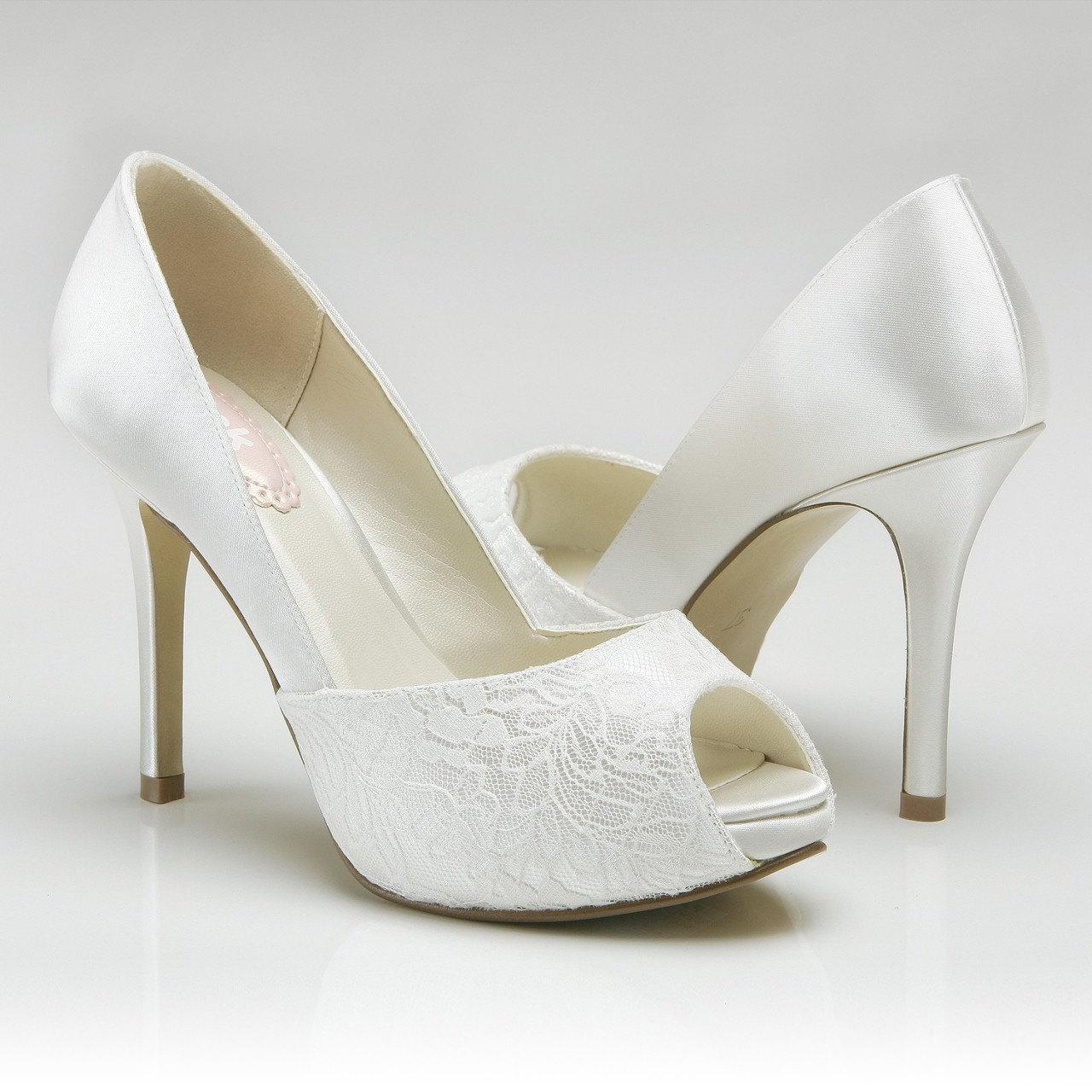 bridal shoes high heels photo - 1