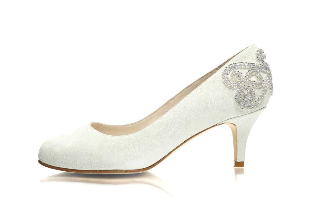 bridal shoes wide photo - 1
