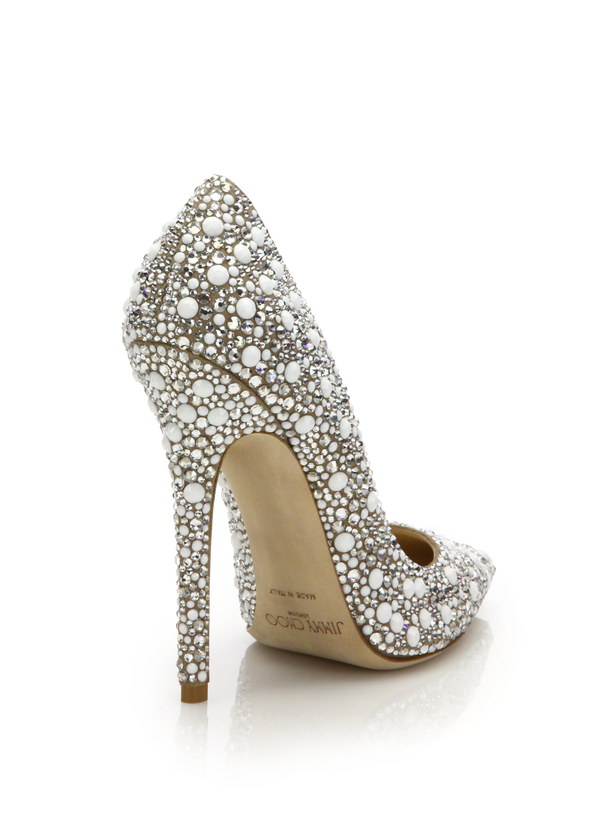 bridal white shoes photo - 1