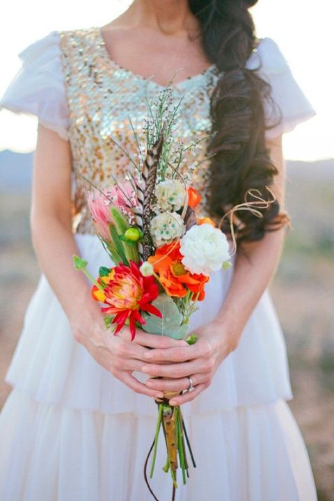 budget wedding bouquets photo - 1