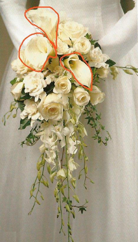 calla lily wedding bouquet photo - 1