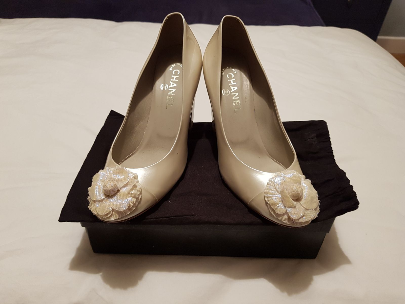chanel bridal shoes photo - 1