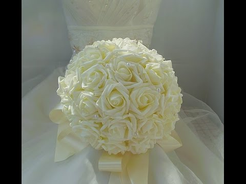 cheap brooch wedding bouquets photo - 1
