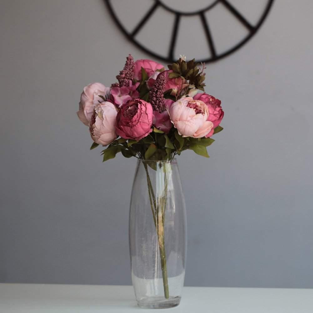 cheap fake wedding bouquets photo - 1