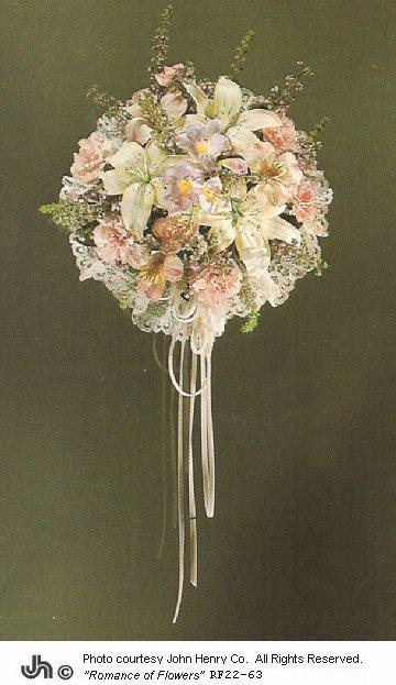 cheap silk wedding bouquets photo - 1