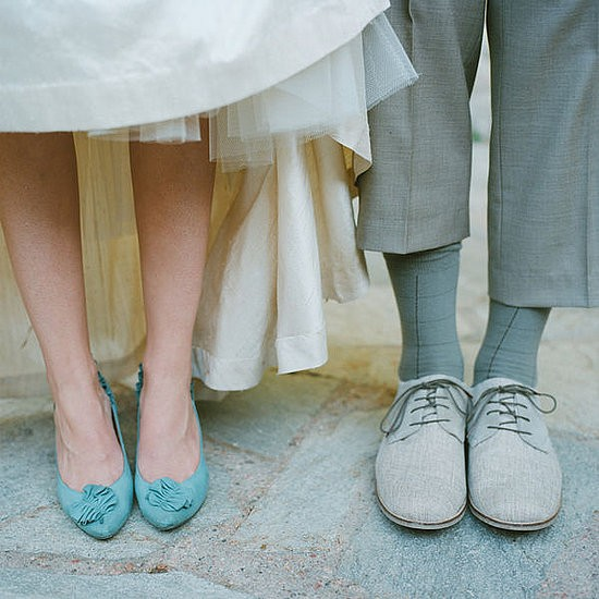 cheap wedding shoes flats photo - 1
