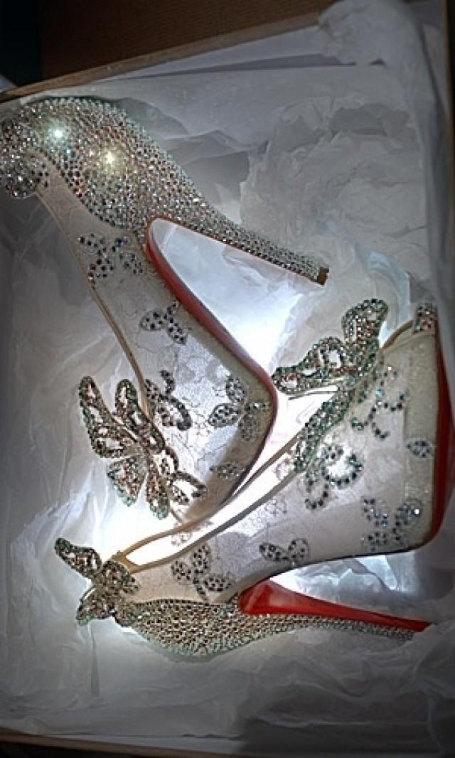 0a9f4c8d7d4 Christian louboutin cinderella wedding shoes - Florida-Photo ...
