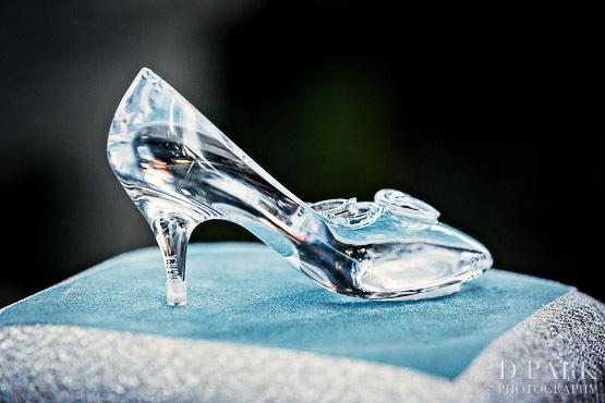 cinderella glass slipper wedding shoes photo - 1