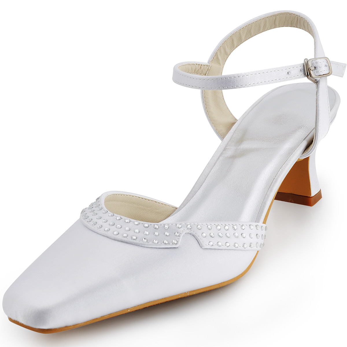 closed toe wedding shoes photo - 1