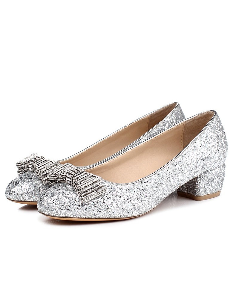 comfortable flat wedding shoes photo - 1