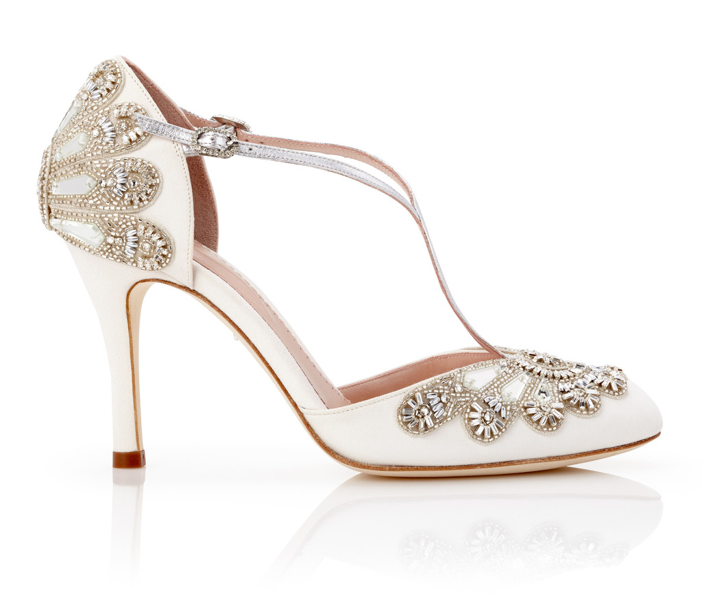 comfortable wedding shoes for bride photo - 1