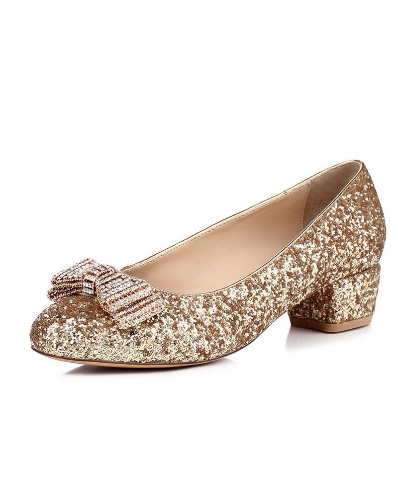 comfortable wedding shoes low heel photo - 1
