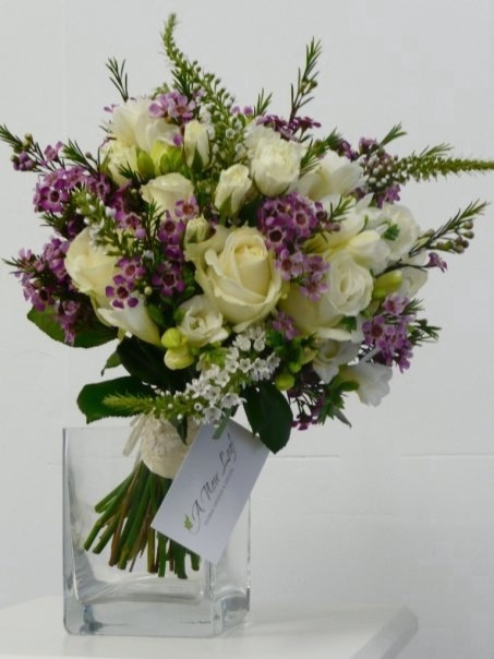 country wedding bouquet photo - 1