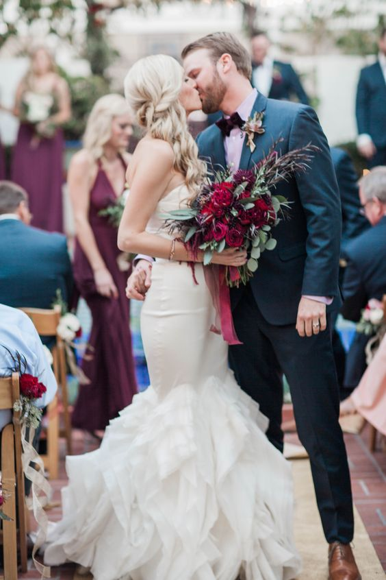 cranberry wedding shoes photo - 1