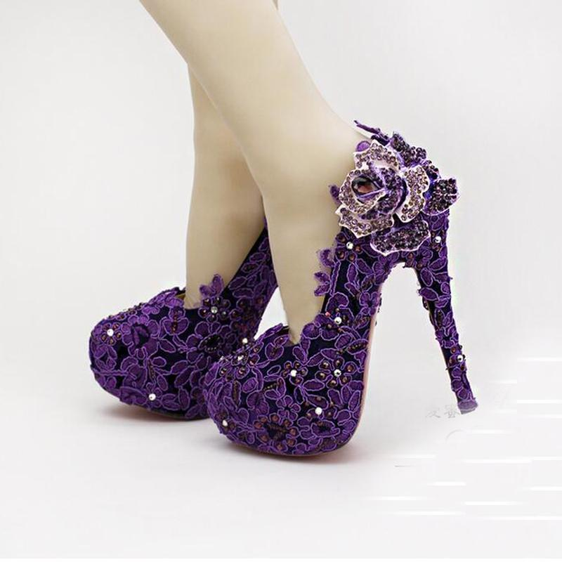 crystal wedding shoes for bride photo - 1
