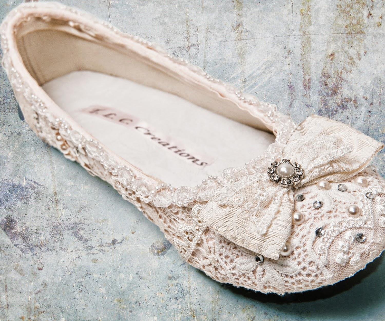 cute bridal shoes photo - 1