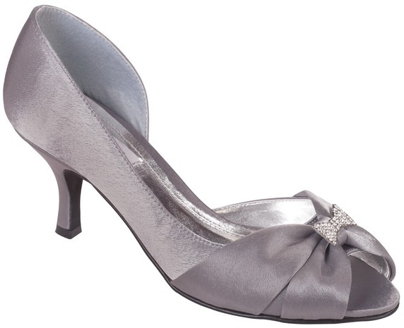 dark grey shoes for wedding photo - 1