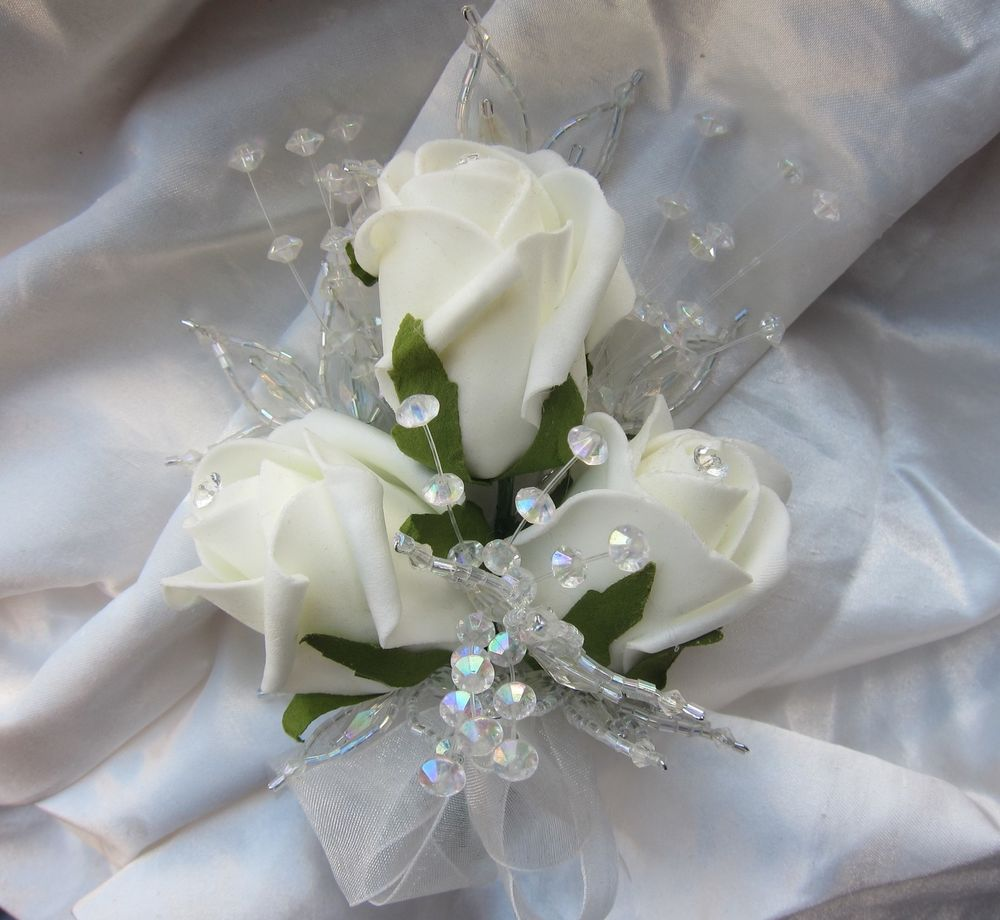 diy silk wedding flowers photo - 1