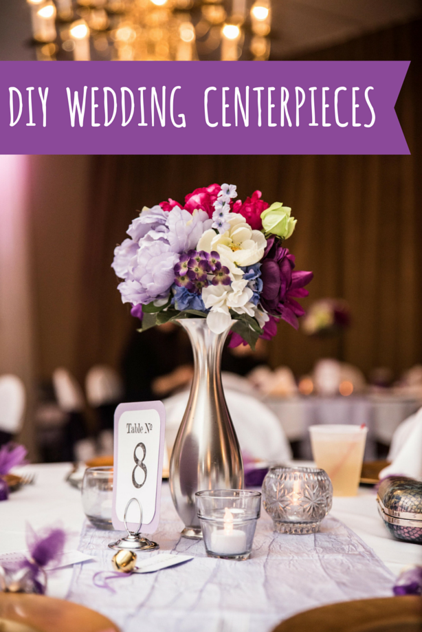diy wedding centerpieces without flowers photo - 1